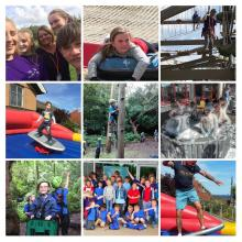 Montage of Youth Hub activity photos